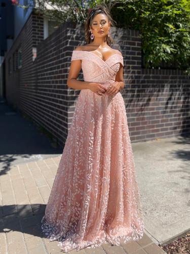 Jadore JX5006 Gown - Pink