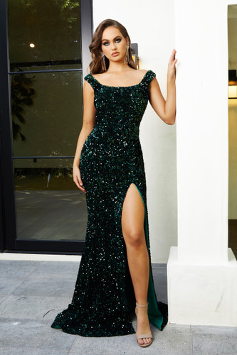 Portia & Scarlett PS21028 Gown - Emerald