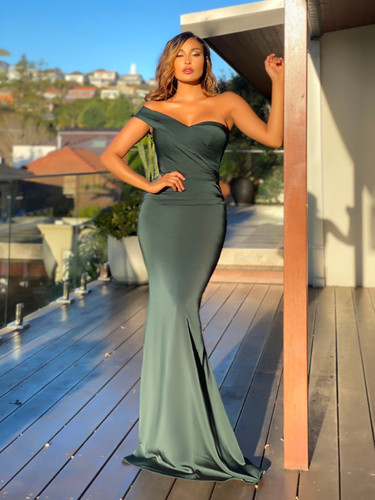 SOLD OUT Jadore JX5056 Gown - Emerald
