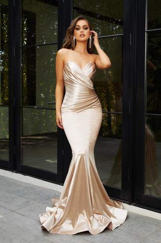 Portia & Scarlett PS21279 Gown - Champagne