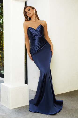 Portia & Scarlett PS21279 Gown - Navy
