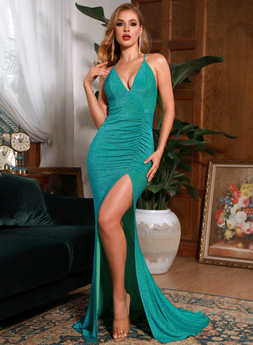 Mila Label Karina Gown - Green