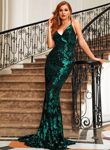 Mila Label Briana Gown - Emerald