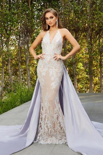 Portia & Scarlett PS21040 Gown - Lilac Blush