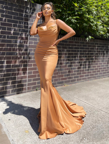 Jadore JX5016 Gown - Copper