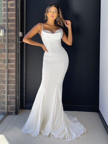 Jadore JX5016 Gown - Ivory
