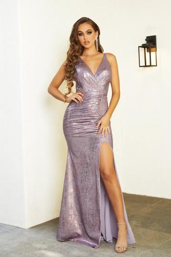 Portia & Scarlett PS21281 Gown - Lilac