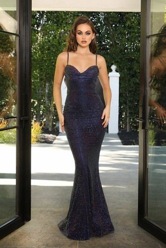 Portia & Scarlett PS21119 Gown - Navy