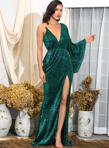 Mila Label Megan Gown - Emerald