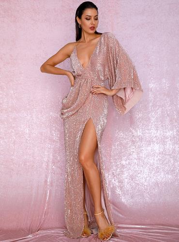 Mila Label Megan Gown - Champagne