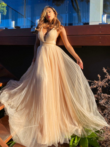 Jadore JX5035 Gown - Champagne
