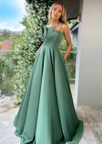 Jadore JX5010 Gown - Olive