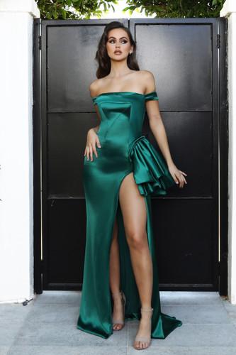 Portia & Scarlett PS21048 Gown - Emerald