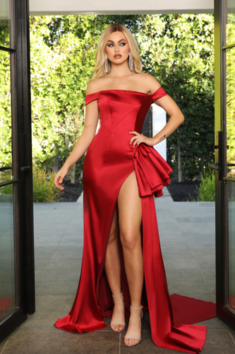 Portia & Scarlett PS21048 Gown - Red