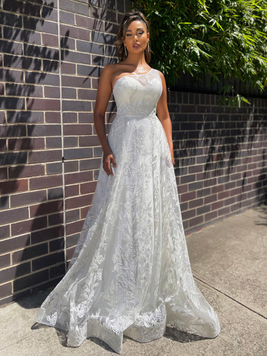 Jadore JX5020 Gown - Ivory