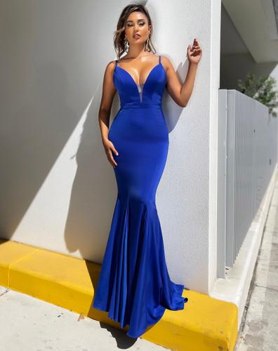 Jadore JX5019 Gown - Cobalt
