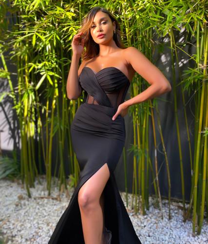 Jadore JX5062 Gown - Black