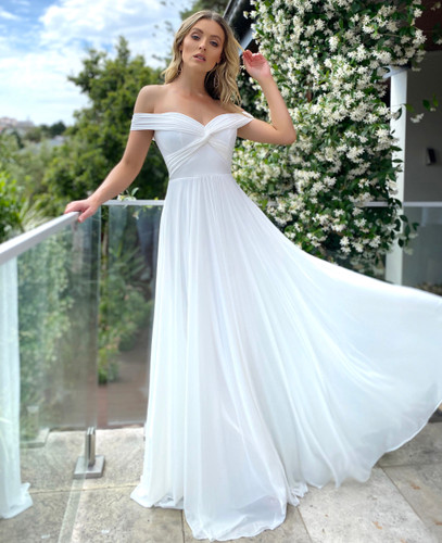 Jadore JX5045 Gown - Ivory