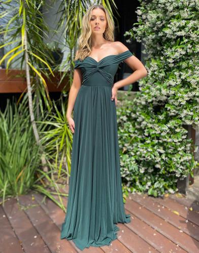 Jadore JX5045 Gown - Emerald