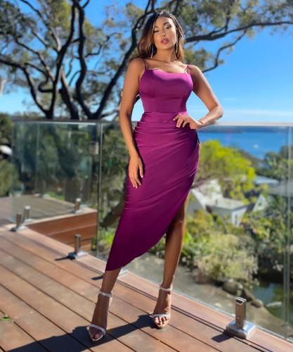 Jadore JX5042 Dress - Purple