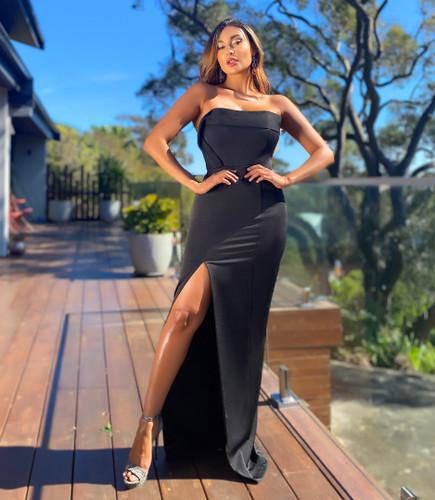 Jadore JX5055 Gown - Black
