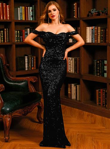 Mila Label Tabitha Gown - Black