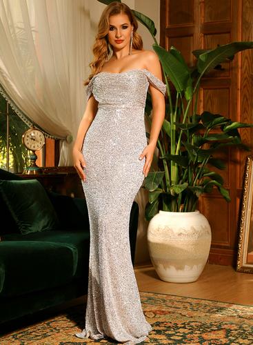 Mila Label Tabitha Gown - Silver
