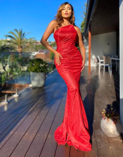 Jadore JX5070 Gown - Red