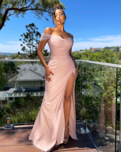 Jadore JX5072 Gown - Dusty Pink