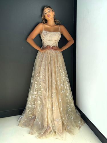 Jadore JX5040 Gown - Cream