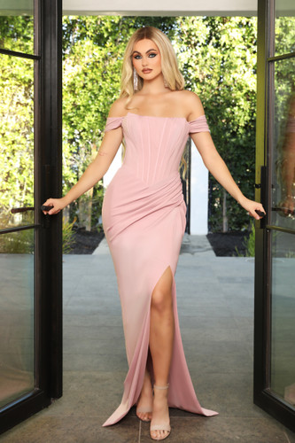 Portia & Scarlett PS21272 Gown - Blush