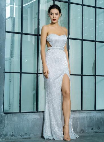Mila Label Vanessa Gown - Silver