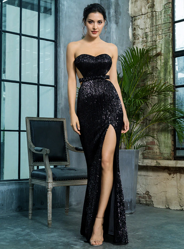 Mila Label Vanessa Gown - Black
