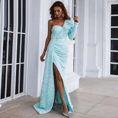Mila Label Medina Gown - Light Blue