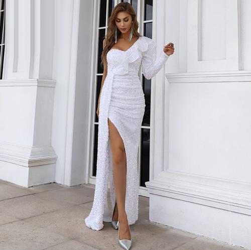Mila Label Medina Gown - White