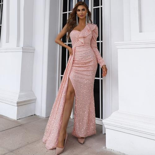 Mila Label Medina Gown - Pink