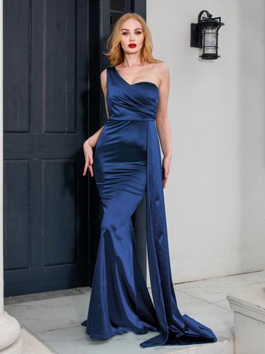 Mila Label Marona Gown - Navy