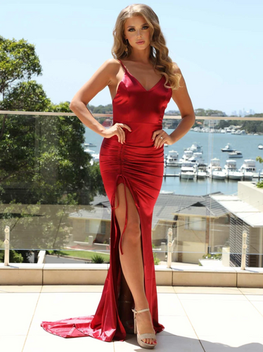 Mila Label Dylan Gown - Red