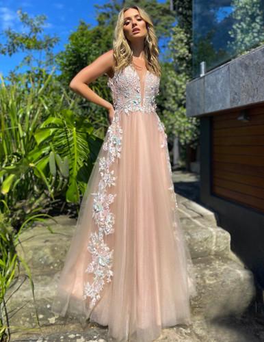 Jadore JX5014 Gown - Dusty Pink