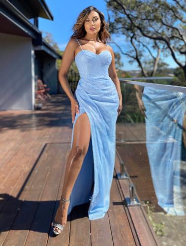 Jadore JX5023 Gown - Blue