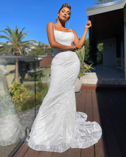 Jadore JX5073 Gown - Ivory/Ivory