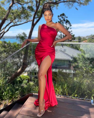 Jadore JX5051 Gown - Ruby