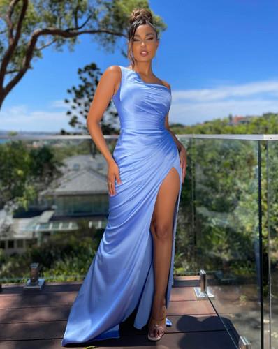 Jadore JX5051 Gown - Sky Blue