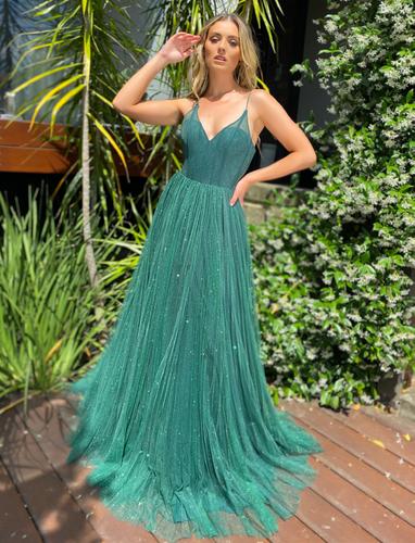 Jadore JX5050 Gown - Emerald