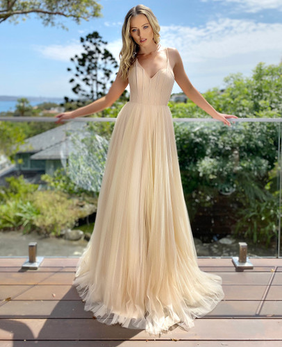 Jadore JX5050 Gown - Champagne