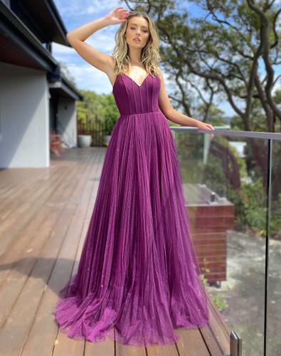 Jadore JX5050 Gown - Berry