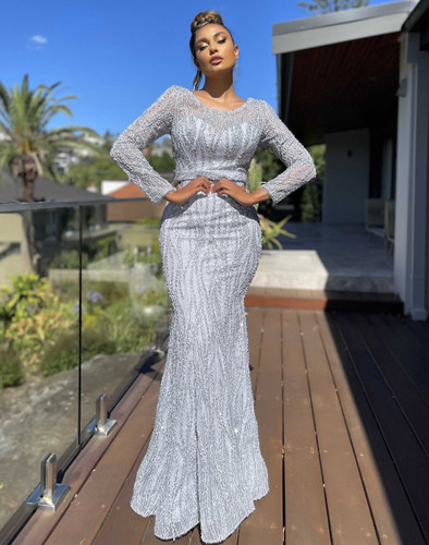 Jadore JX5063 Gown - Silver