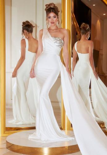 Portia & Scarlett PS21219 Gown - Ivory