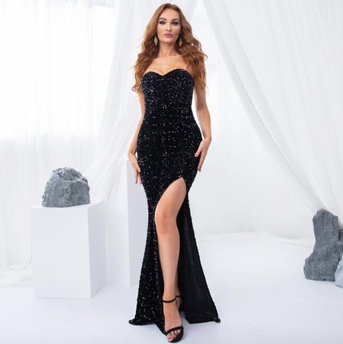 Mila Label Willa Gown - Black