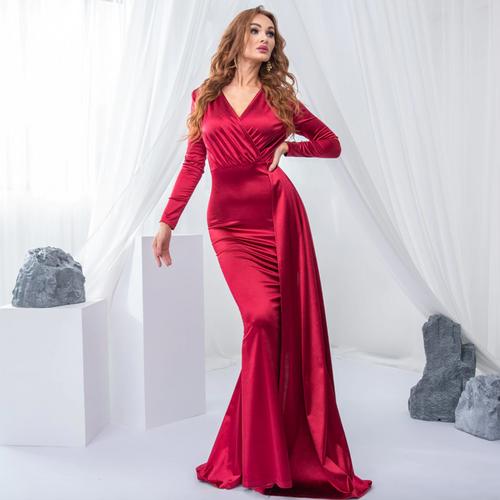 Mila Label Selene Gown - Red